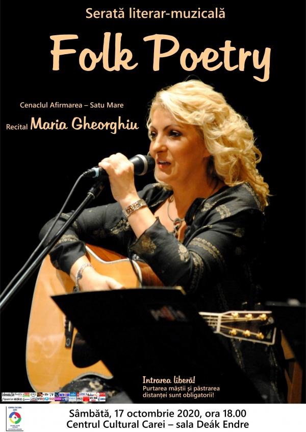 Recital Maria Gheorghiu la Carei