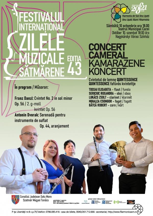 Concert din abonamentul Filarmonicii Satu Mare