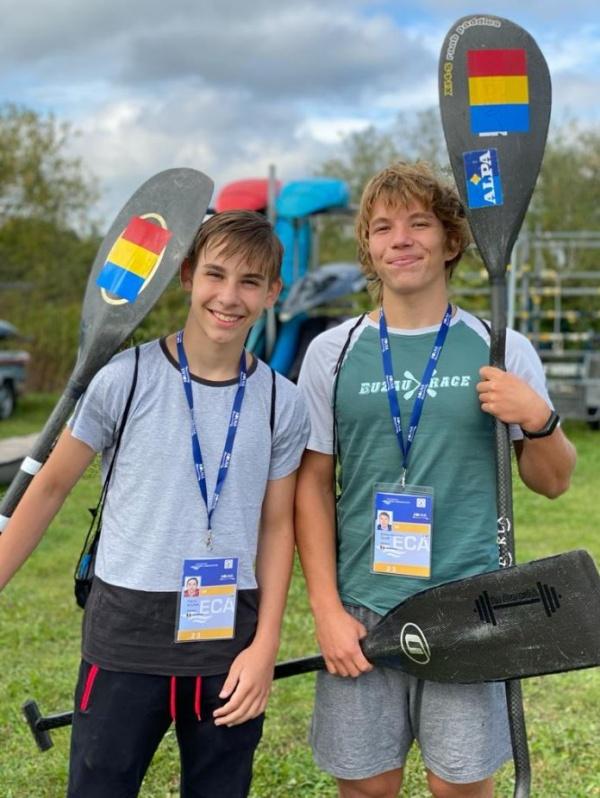 Doi sportivi sătmăreni reprezintă România la Campionatul de canoe slalom din Polonia