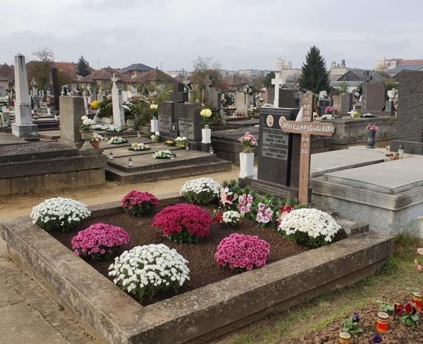 Cimitirele din Carei sunt deschise zilnic