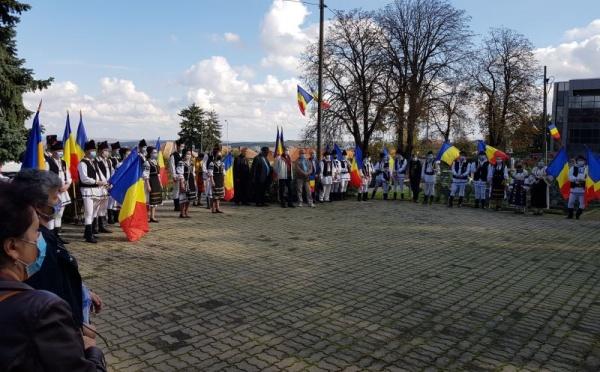 Marş de Recunoştinţă la Cluj la 76 de ani de la eliberarea de sub ocupaţia hortystă