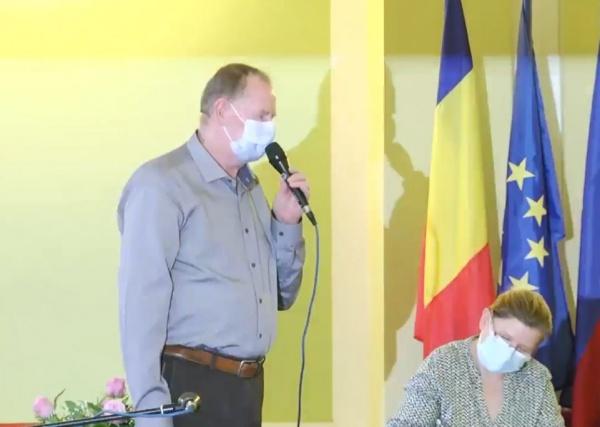 Viceprimarul Keizer: ,,Eu îi mulțumesc colegilor mei că m-au votat…,,