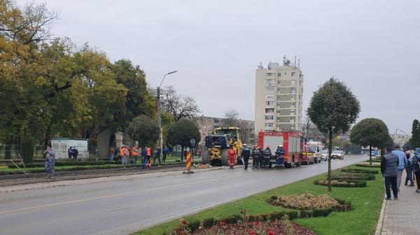 Accident rutier la Carei. Încă nimic oficial despre accidentul de muncă mortal