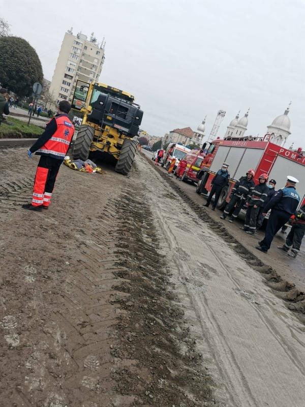 Niciun anunț oficial despre accidentul mortal de muncă de la Carei