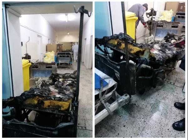 Tragedie  la Spitalul din Piatra Neamț. Zece pacienți intubați au ars în secția de reanimare