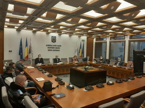 Videoconferință la Prefectură pentru coordonarea alegerilor parlamentare