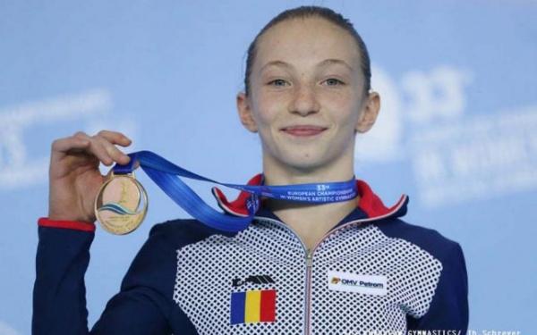 Aur la toate finalele pe aparate pentru Ana Bărbosu la Campionatul European de gimnastică