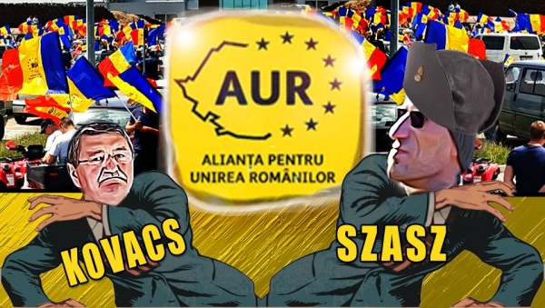 Agramatul Szasz portavocea UDMR atacă AUR