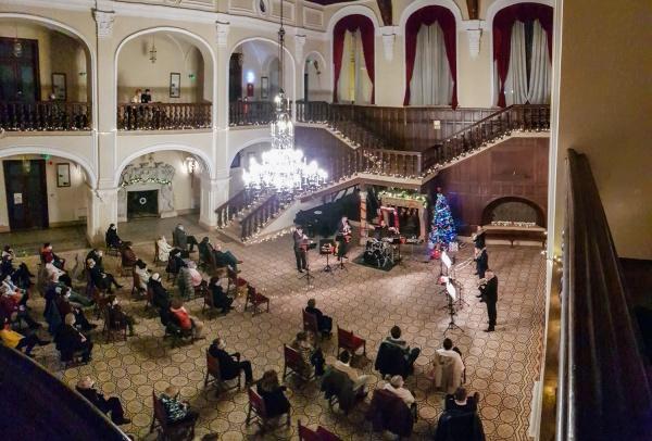 Concert de Crăciun al Filarmonicii Satu Mare la Carei