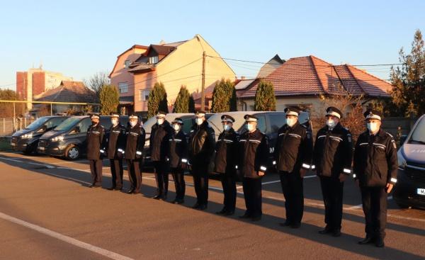 Jandarmi sătmăreni avansați în grad de Ziua Națională