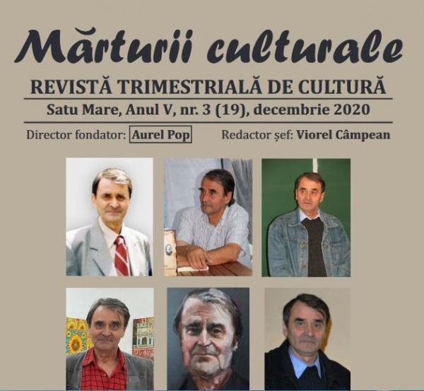 Mărturii Culturale la ultimul număr. In Memoriam Aurel Pop