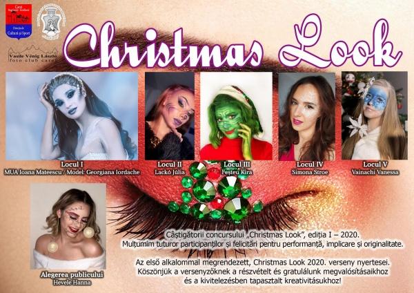 """Câștigătorii concursului """"Christmas Look"""", ediția I – 2020"""