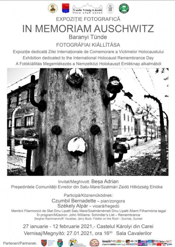 Expoziție fotografică In Memoriam Auschwitz