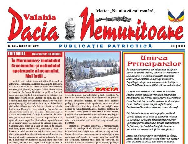 Dacia  Nemuritoare la  numărul 89