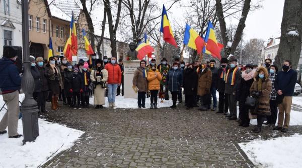 Mihai Eminescu a fost omagiat la Carei ca român absolut