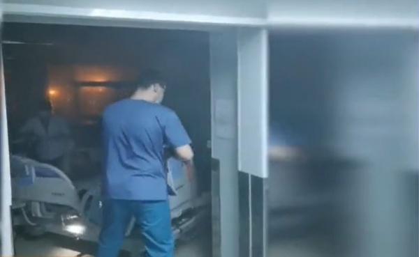 Pacienți evacuați de la Spitalul Sf.Pantelimon din capitală