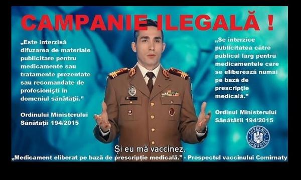 CNA oprește campania de dezinformare a populației privind vaccinurile