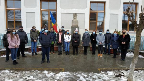Vasile  Lucaciu comemorat de şcoala care îi poartă numele