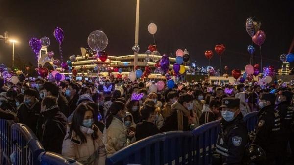 Revelion 2021 în China