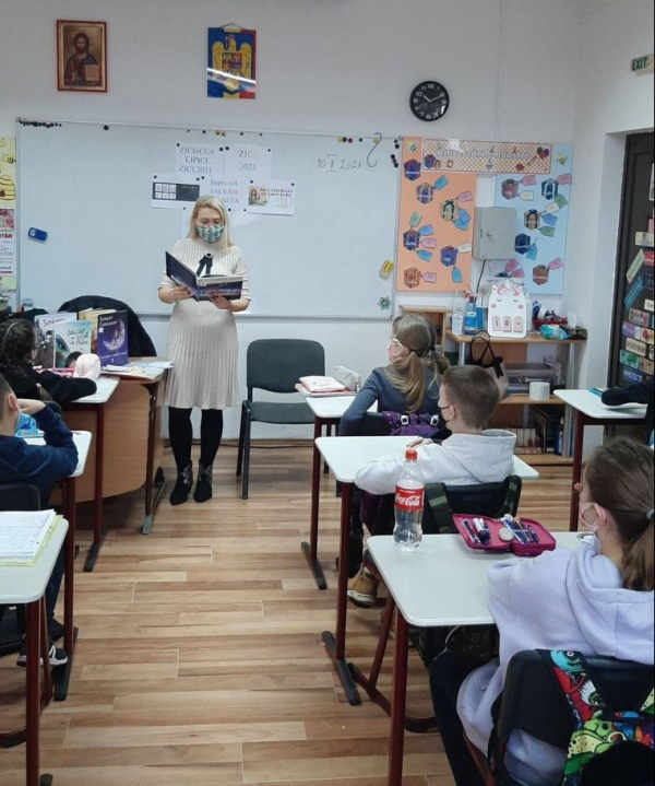 Ziua Internaţională a Cititului Împreună marcată și la Carei