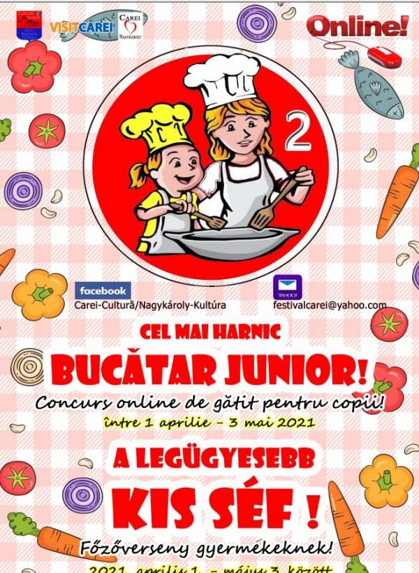 """Concurs de gătit. """"Cel mai harnic Bucătar Junior!"""" – ediția a doua"""