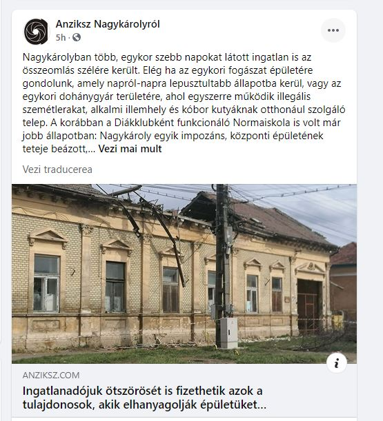 Buletin de Carei solicită primarului mun.Carei să folosească și tasta pentru limba română când se referă la problemele comunității