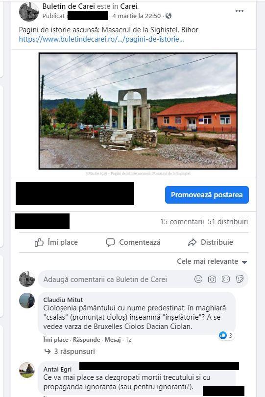 Atac la istoria locală a românilor. Raportorii de serviciu