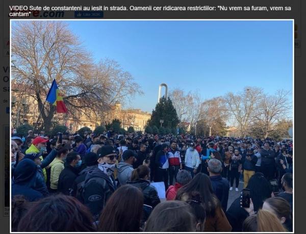 Proteste ample în câteva din marile orașe