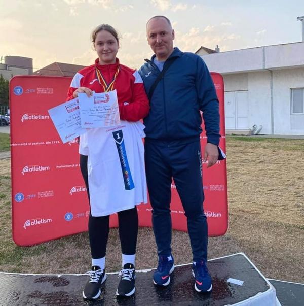 Careianca Alexia Turcu, dublă campioană națională categoria copii