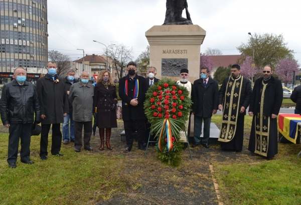 Manifestare sobră la 102 ani de la eliberarea orașului Satu Mare