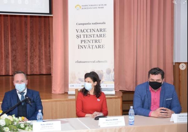 Vizita secretarului de stat Radu SZEKELY în județul Satu Mare unde se reduc clasele cu predare în limba română
