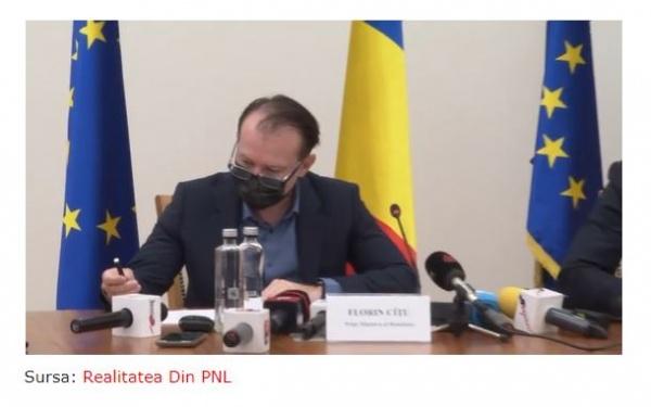Premierul Cîțu se află în Transilvania. Agenda sa  nu cuprinde  nimic legat de Ziua Trianon