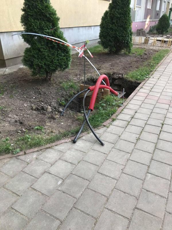 Atenție la gropile din cartierul Mihai Viteazul I din Carei