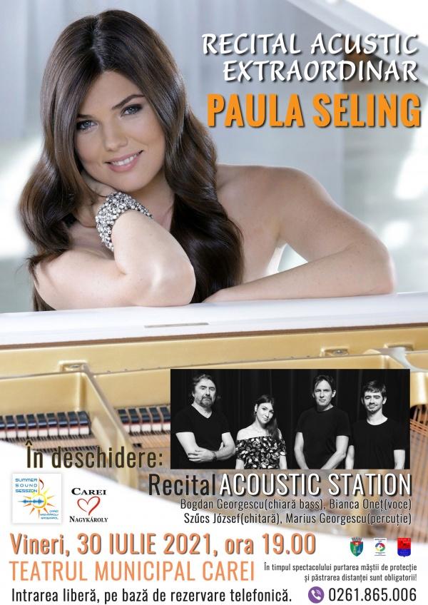 Concert Paula Seling la Carei