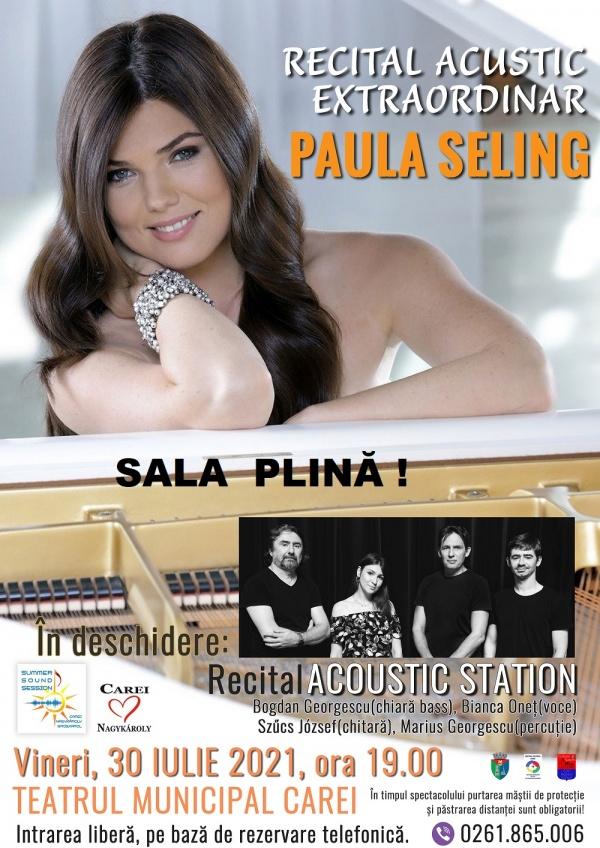 Nu mai sunt locuri la concertul Paulei Seling