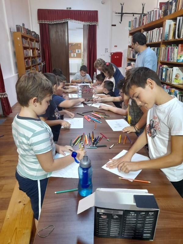 Bibliovacanța Culturală Carei 2021