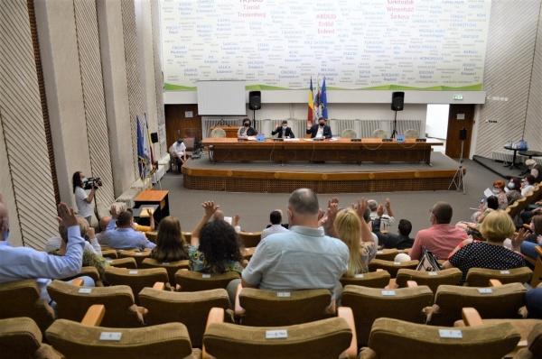 Ordinea de Zi a ședinței Consiliului Județean Satu Mare