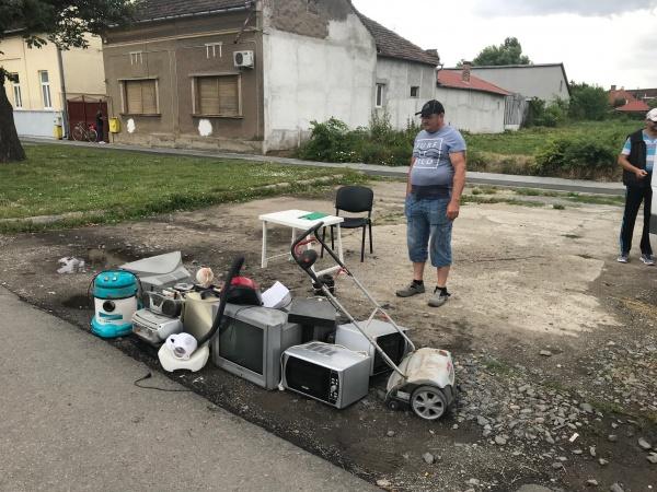 Interes scăzut din partea careienilor pentru predare de deșeuri electrice și electronice