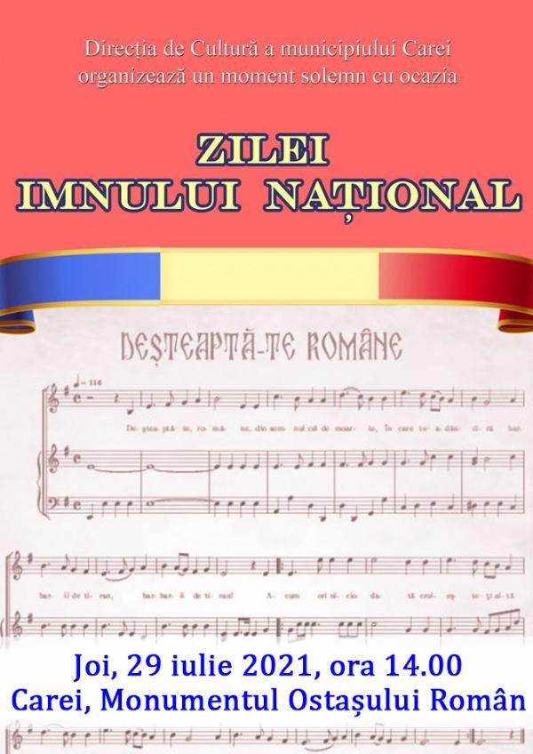 Ziua Imnului Național al României. Invitație