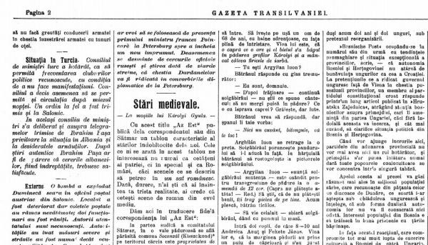 August 1912. Viață de țăran român în satele conților Karolyi din actualul județ Satu Mare
