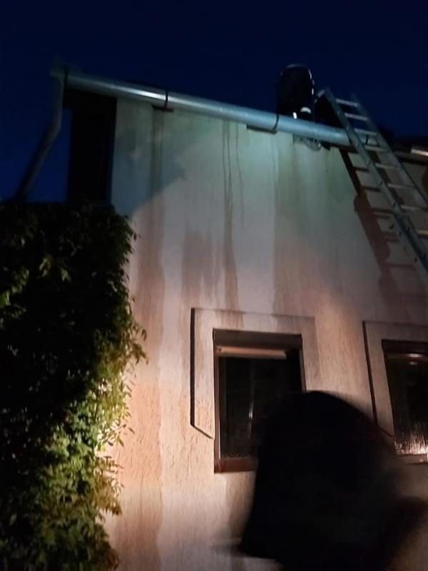 Incendiu la o casă din Carei