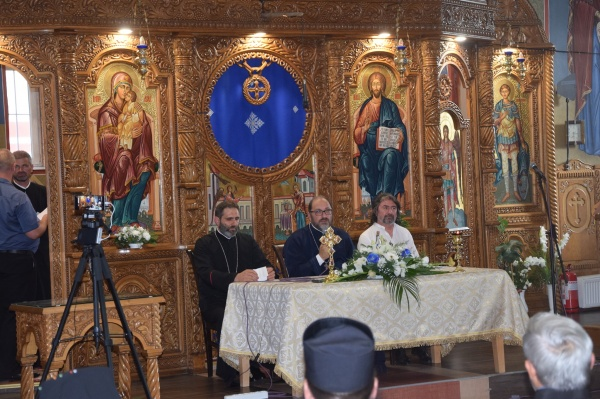 Conferința pr. Constantin Necula la Carei