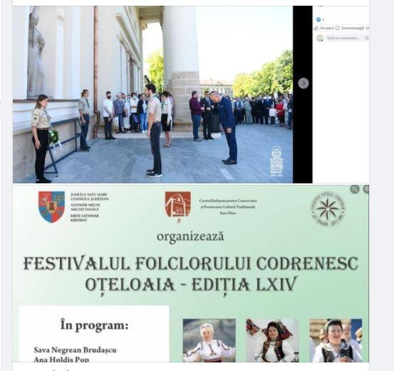 Prefectul de Satu Mare – prezent la zilele  Partium, absent la festival folcloric românesc