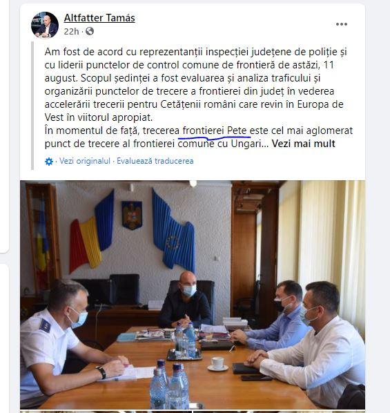Prefectul de Satu Mare nu se deranjează să treacă corect numele localităților românești
