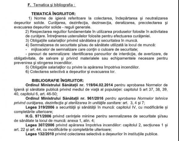 Post vacant de Îngrijitor la Serviciul de Telecomunicaţii Speciale Satu Mare
