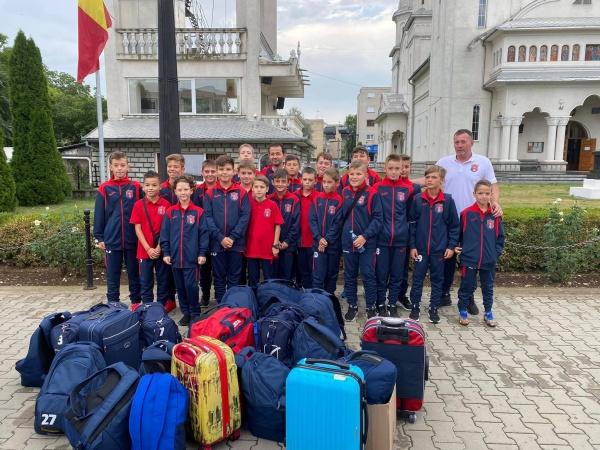 Juniorii de la FC Viitorul Carei în cantonament la Ocna Șugatag