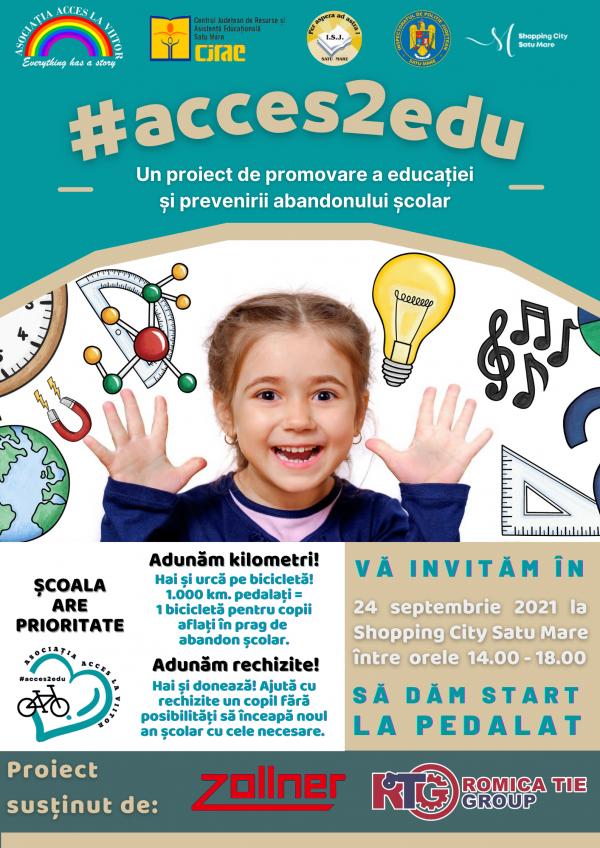 Lupta împotriva abandonului școlar dusă de Asociația Acces La Viitor