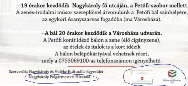 Primăria Carei nu folosește limba oficială din România la evenimentul organizat împreună cu guvernul maghiar în clădirea Primăriei