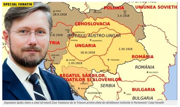 Un parlamentar UDMR Bihor vrea abrogarea Zilei Tratatului de la Trianon