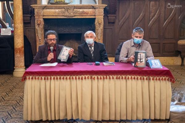 Lansare de carte în limba maghiară a dr. Karácsonyi Károly despre istoria tipografiei careiene